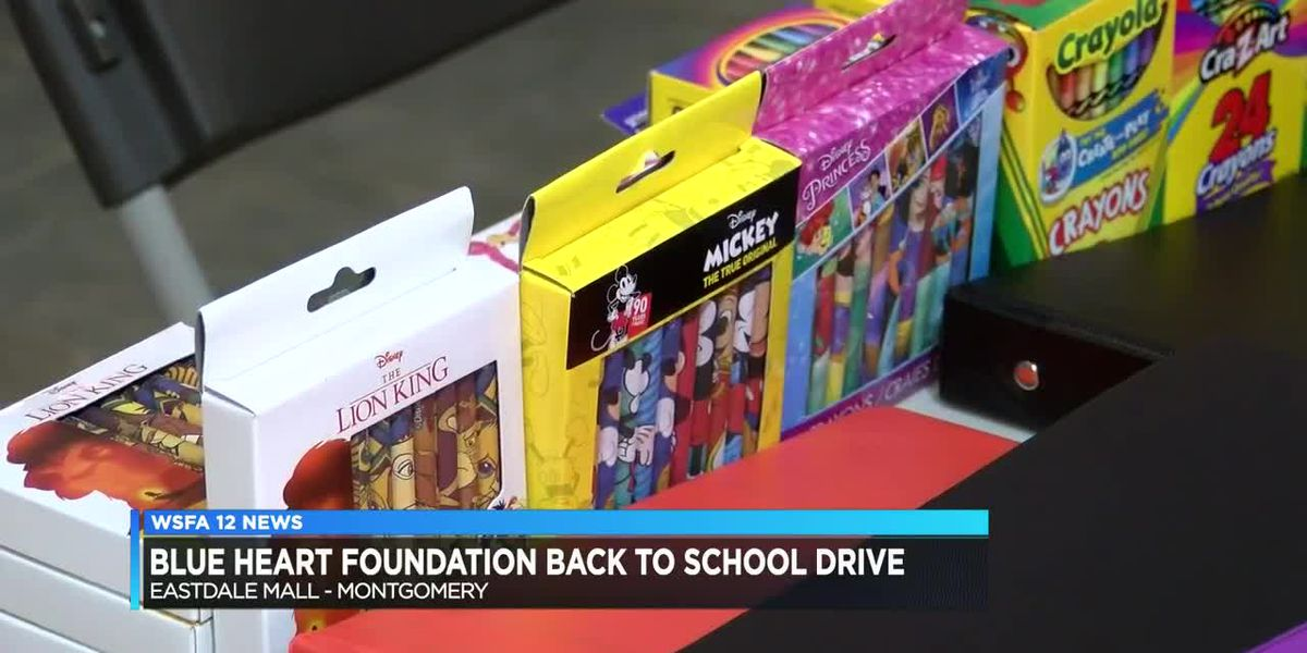 Blue Heart Foundation Back to School Drive readies students