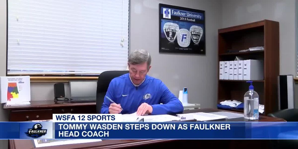 Tommy Wasden stepping down as head coach at Faulkner