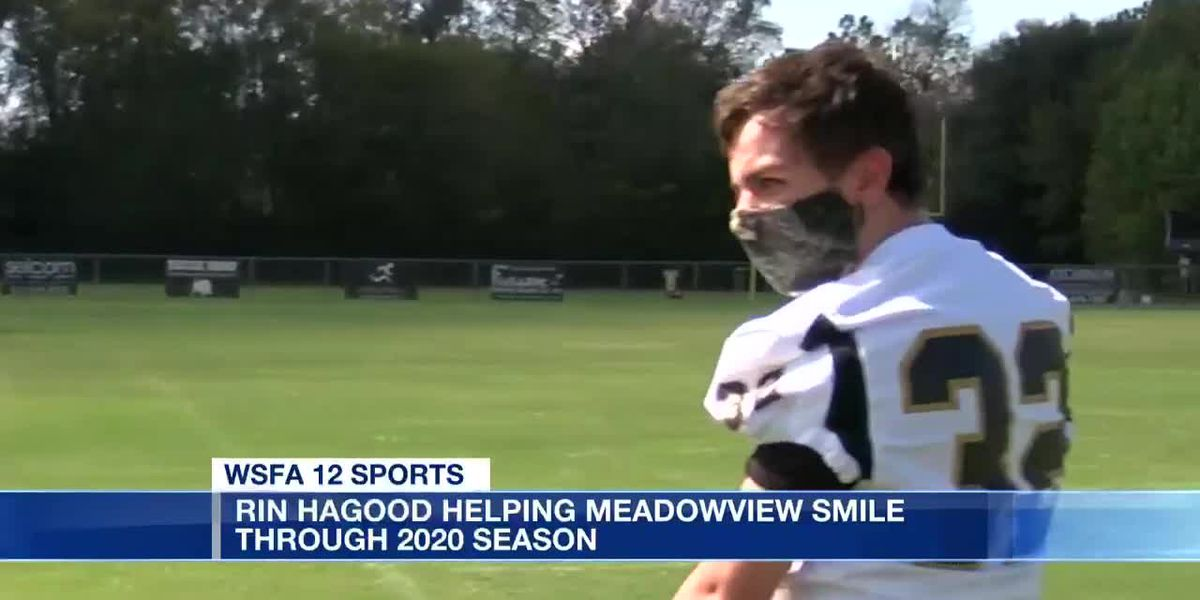 Rin Hagood helping Meadowview smile through 2020 season