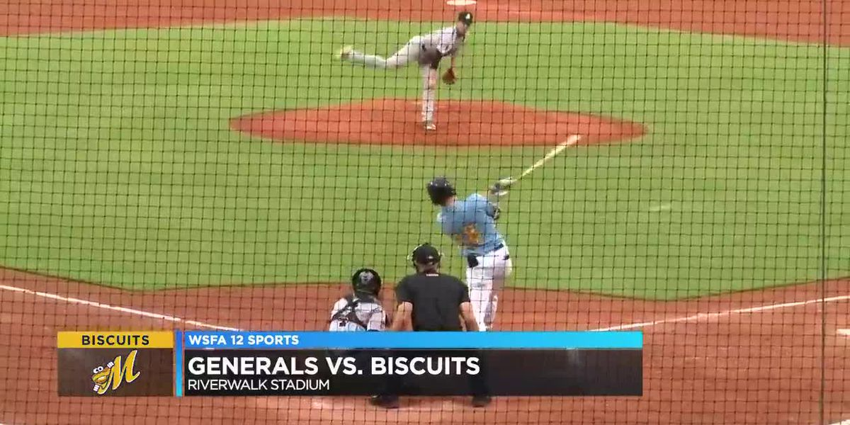 Biscuits scatter 12 hits in win over Generals