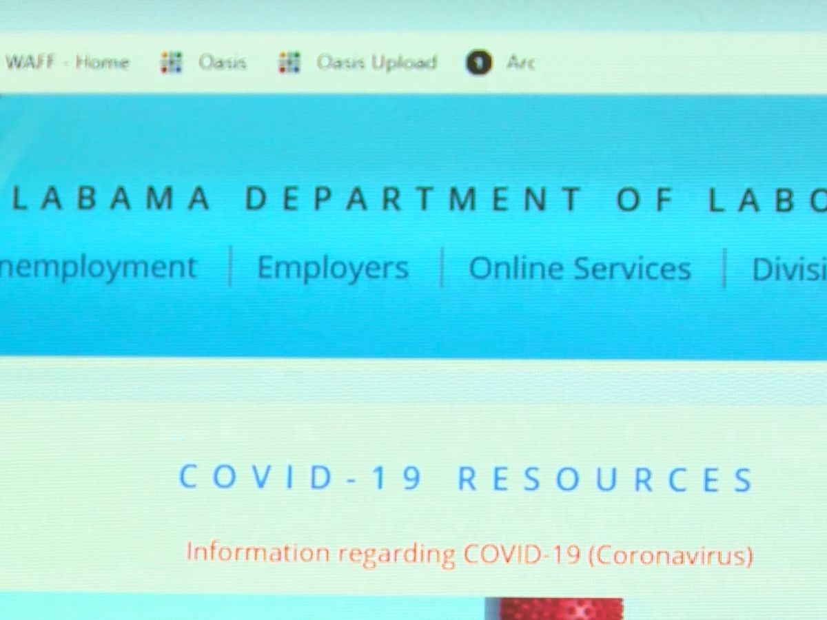 Alabama Department of Labor works to resolve unemployment glitch