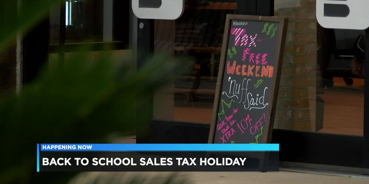 Record-breaking crowds expected for tax free weekend
