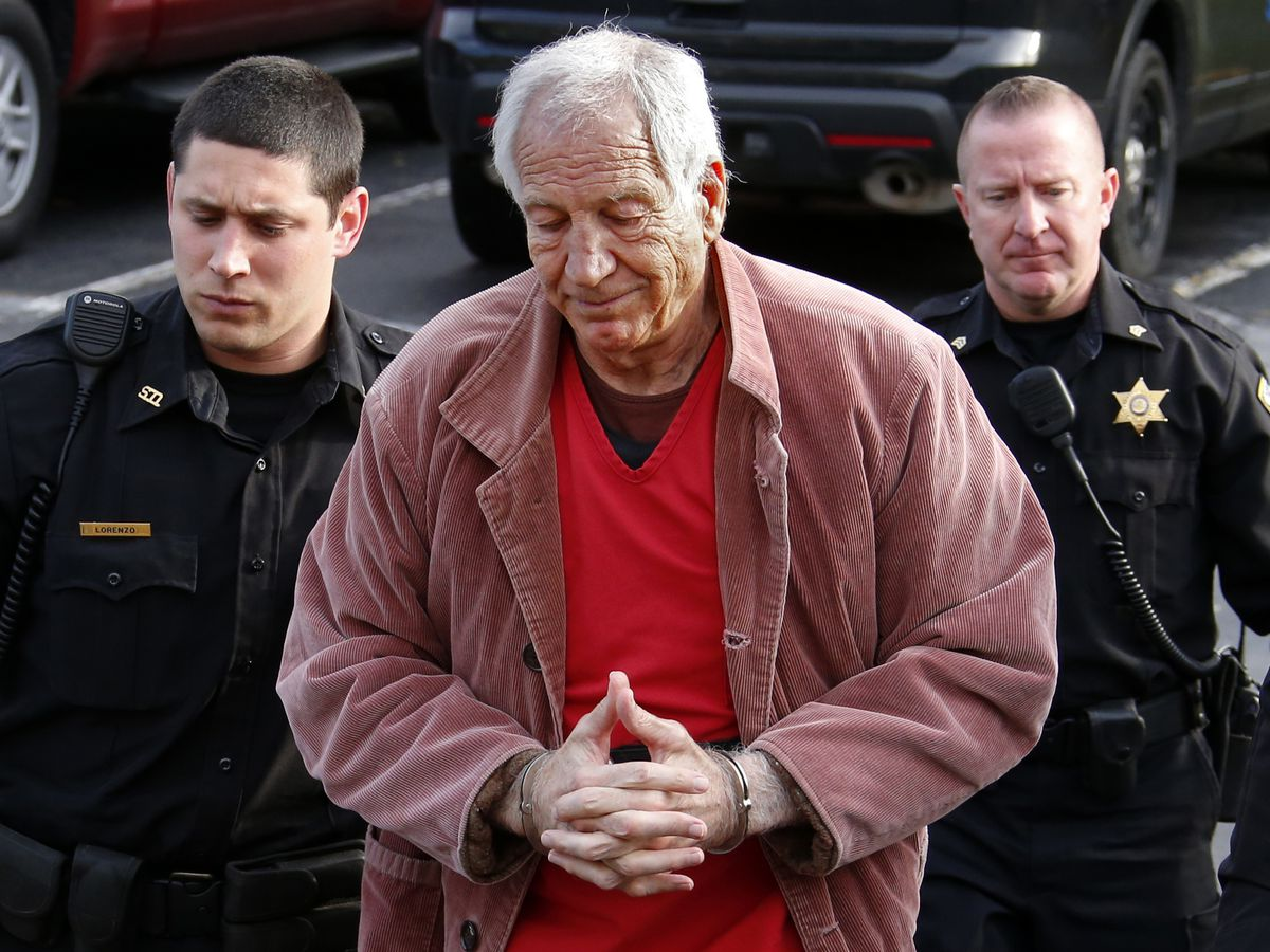 Sandusky being sentenced anew in Penn State sex abuse case