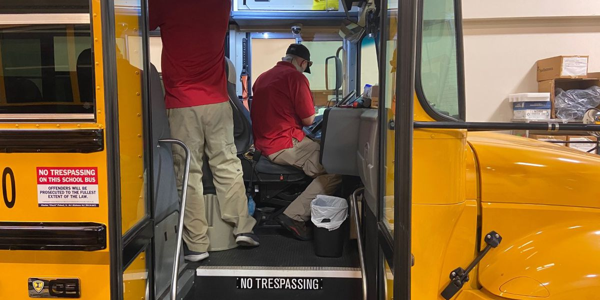 Montgomery Public Schools using buses as WiFi hotspots for quarantined students