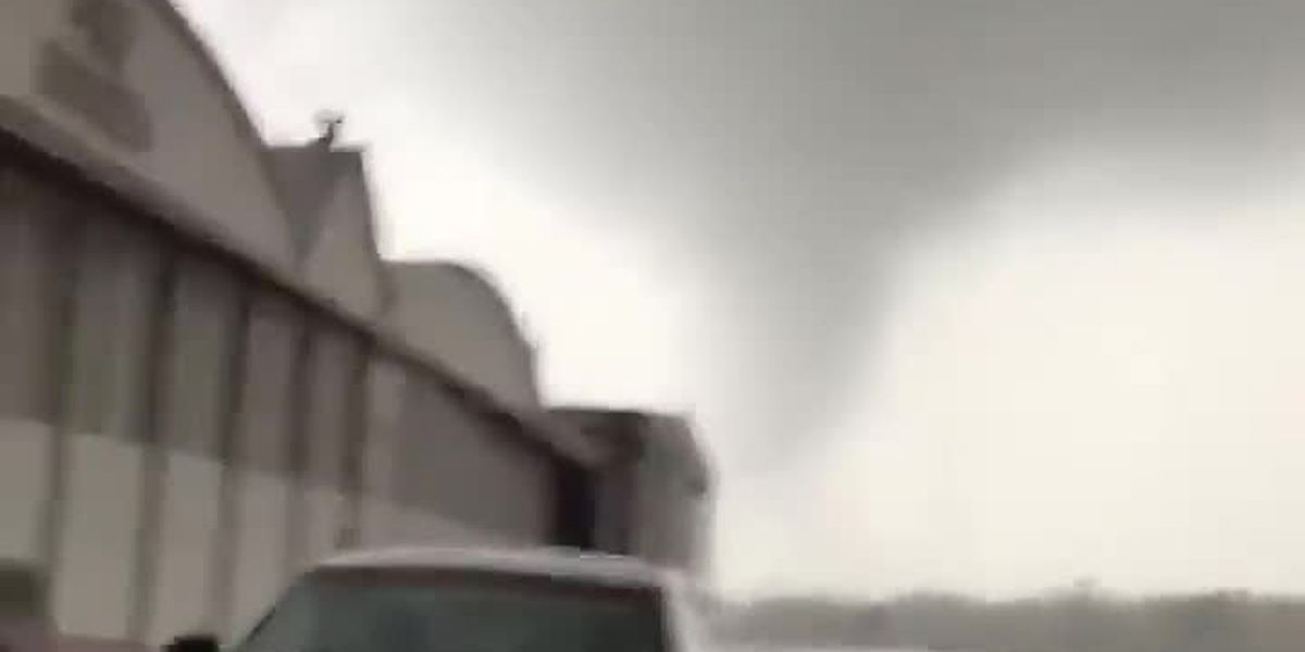 Tornado causes damage in Pike County