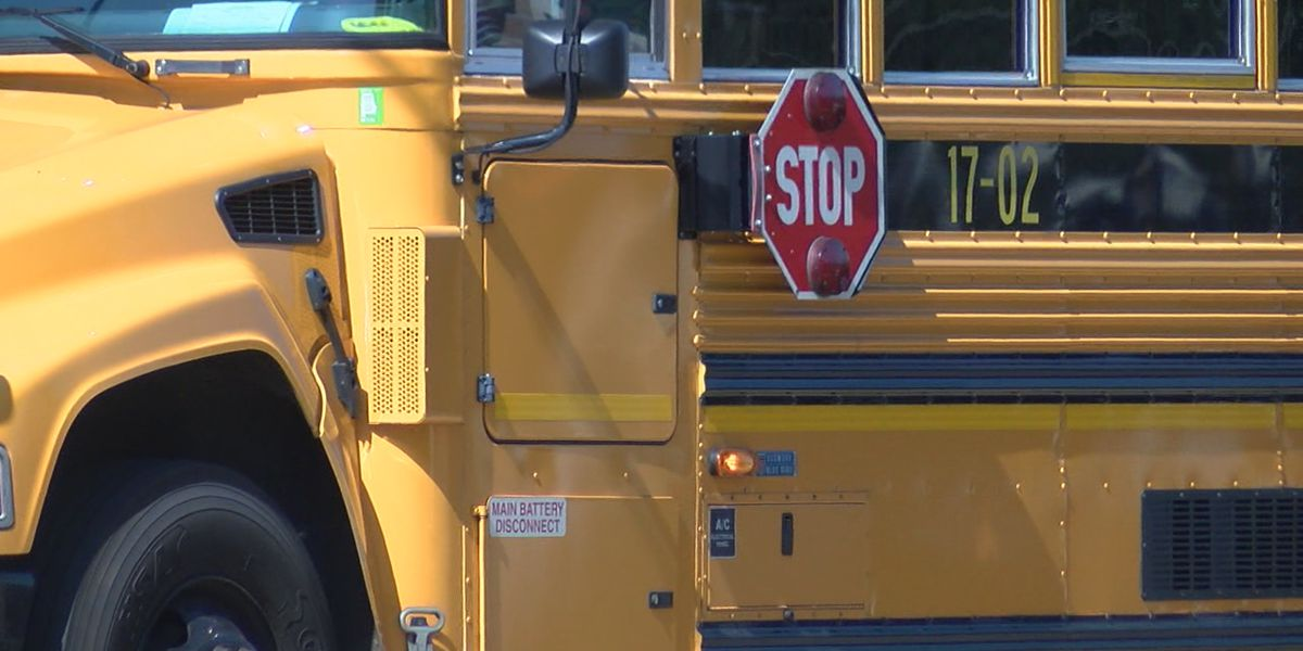 Man who stole school bus in Alabama gets 8 years in prison