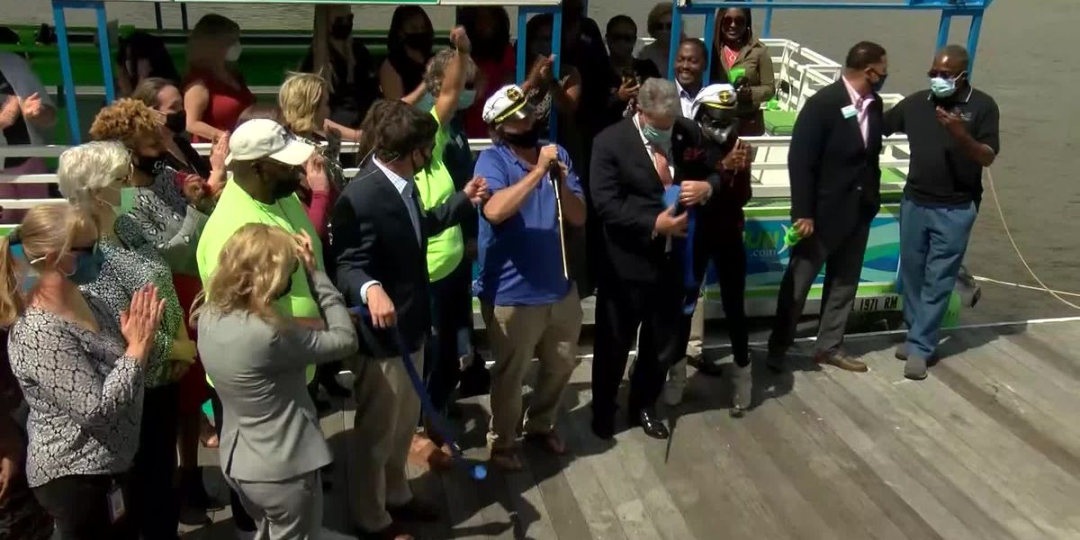 New pedal boat cruise opens in Montgomery