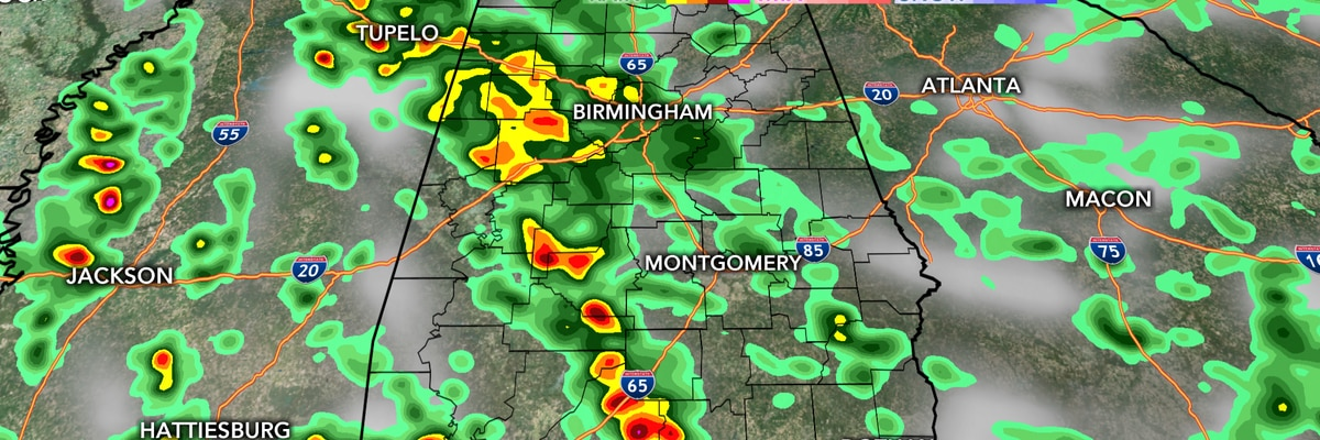 Rain likely throughout Tuesday, storms ramp up late