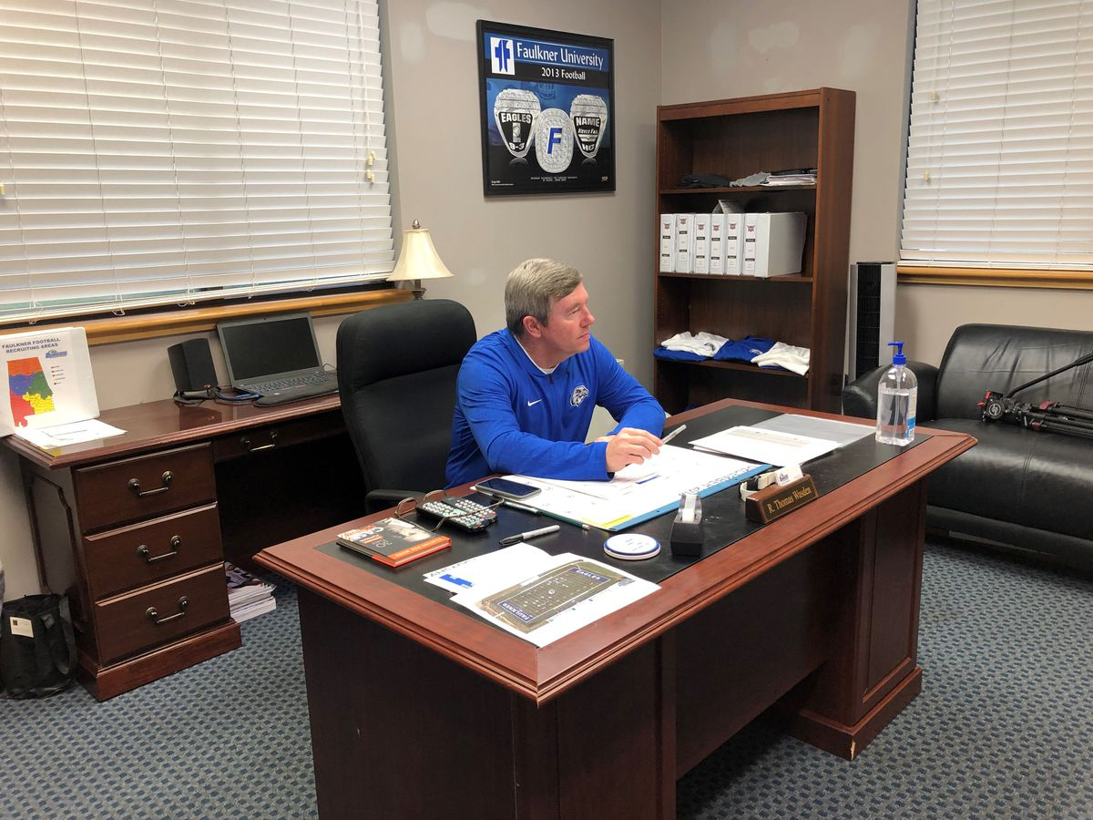Tommy Wasden talks future of Faulkner football