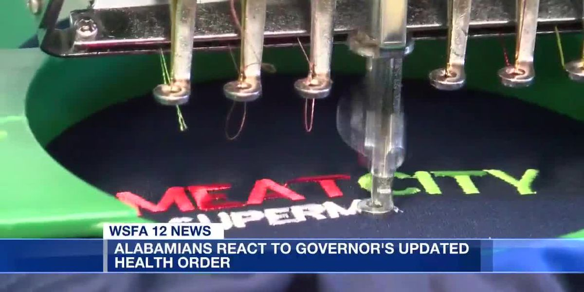 Alabamians react to Gov. Ivey's updated health order