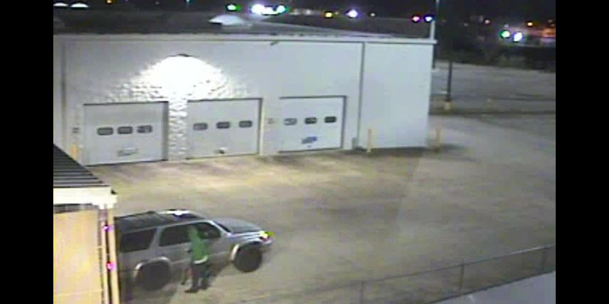Burglary, theft of property at C.A.R.T.