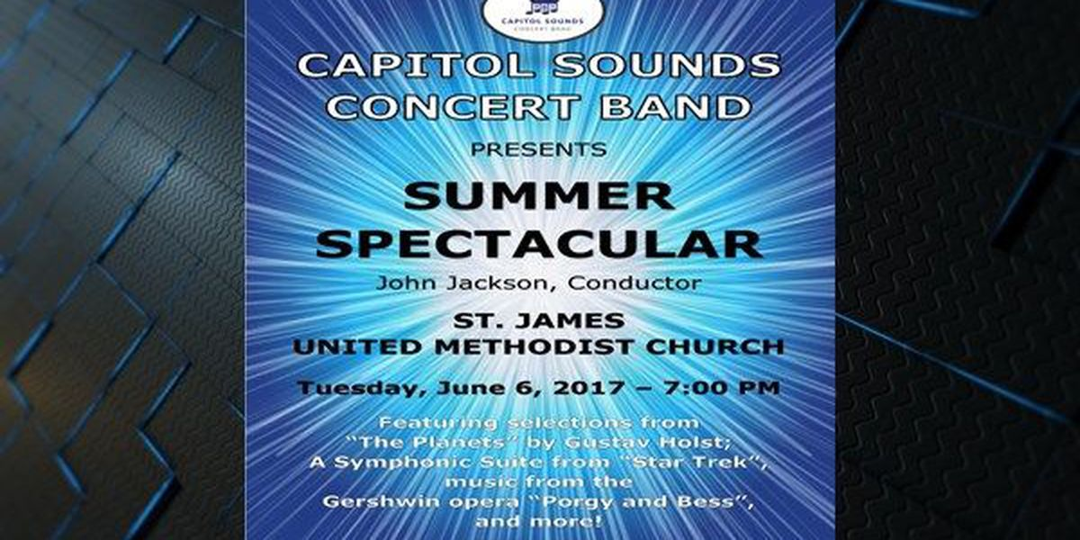 Capitol Sounds Concert Band to host Summer Spectacular Concert