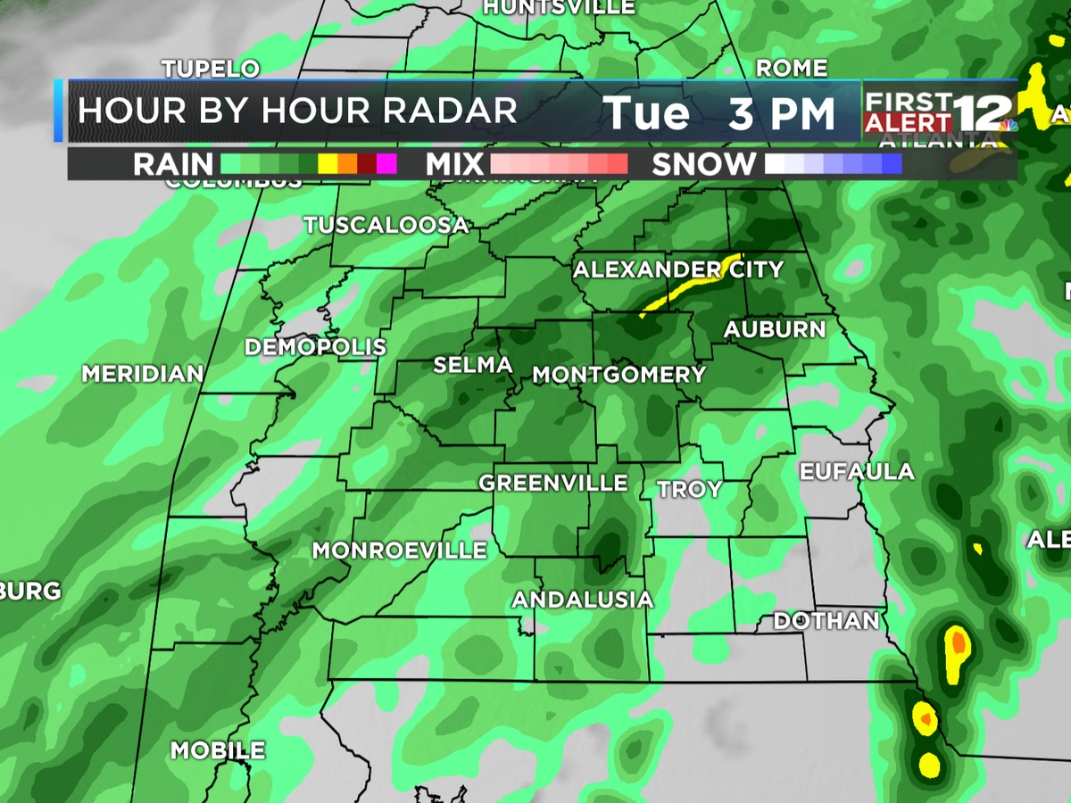 First Alert: Dreary, cold day with even more rain expected