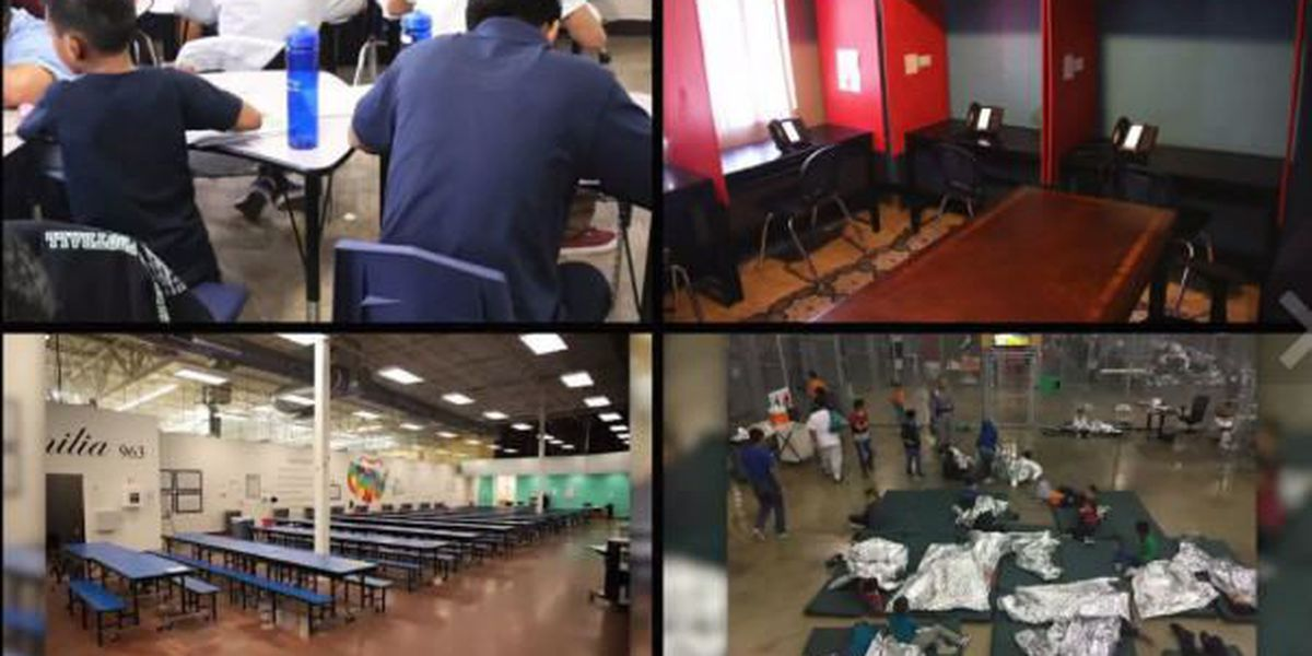 SLIDESHOW: Inside Immigration Detention Centers