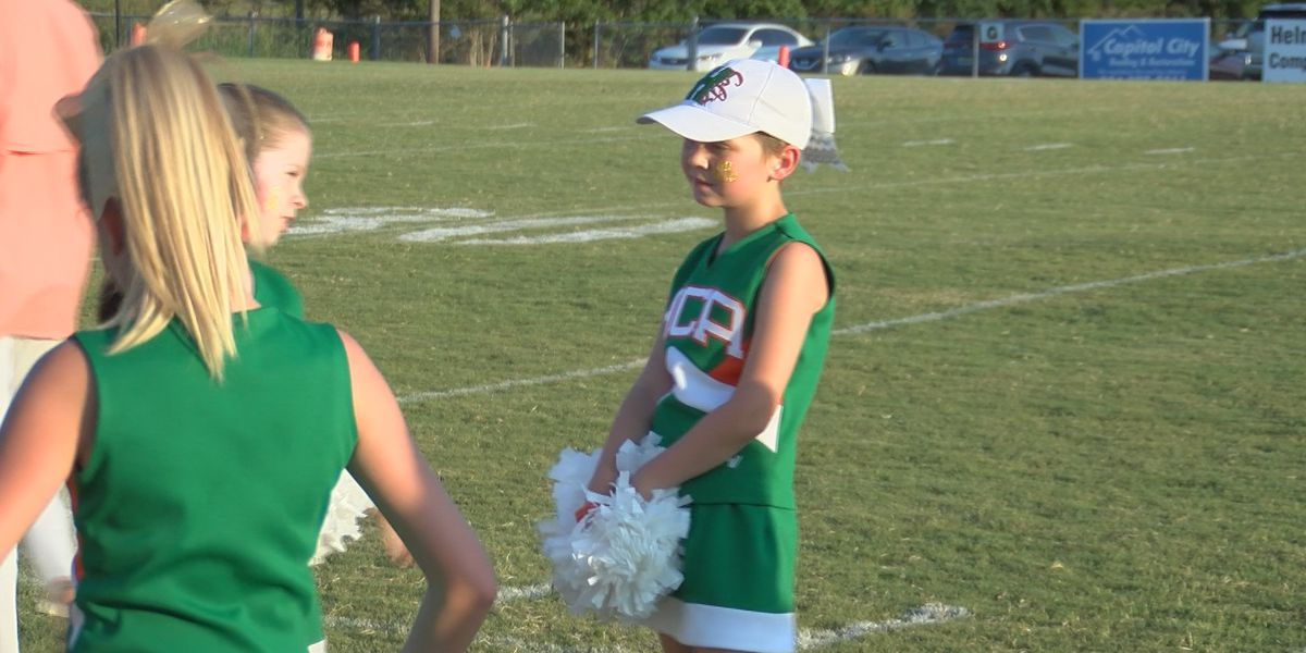 Football teams support 9-year-old leukemia survivor
