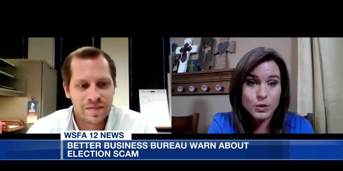 BBB warms about election scams