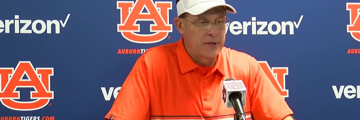 Gus Malzahn press conference after victory over Kent State