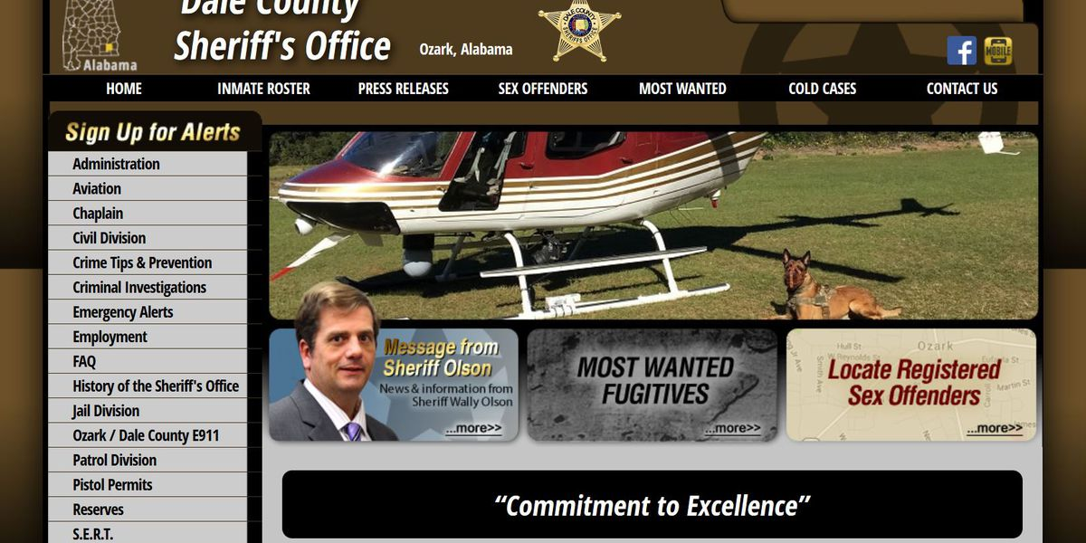 Dale County Sheriff's Office relaunches online inmate roster