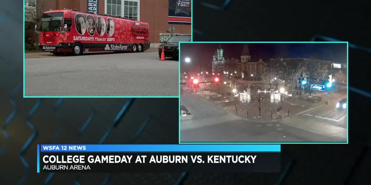 Auburn fans wake up early for College GameDay