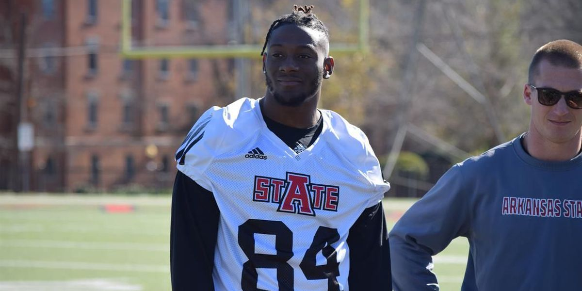 A-State receiver Dijon Paschal back in sweet home Alabama
