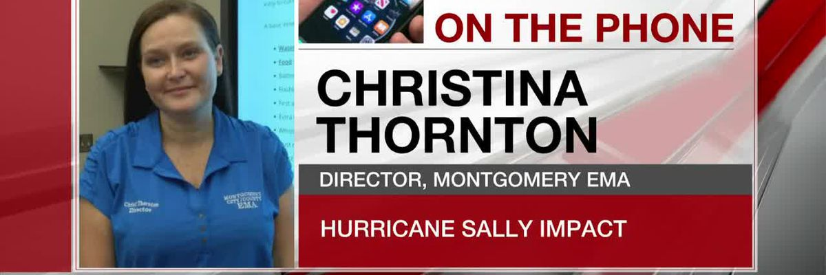 Montgomery County EMA director gives update on impact from Sally Thursday morning