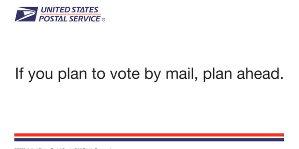 USPS sends vote-by-mail postcard to households