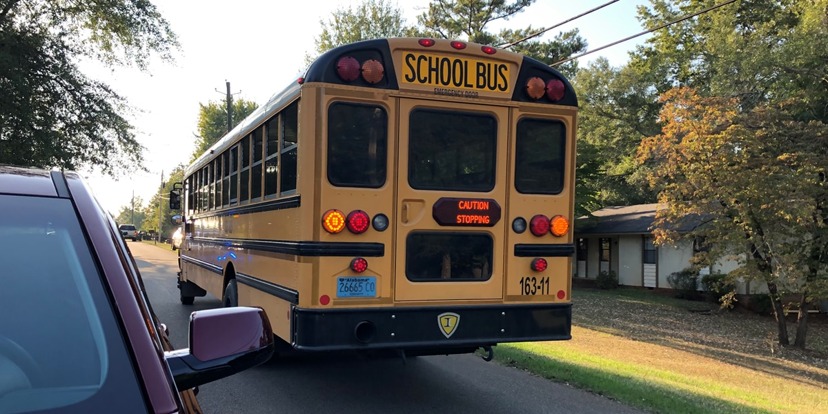 Toddler struck and killed by school bus in Calhoun County