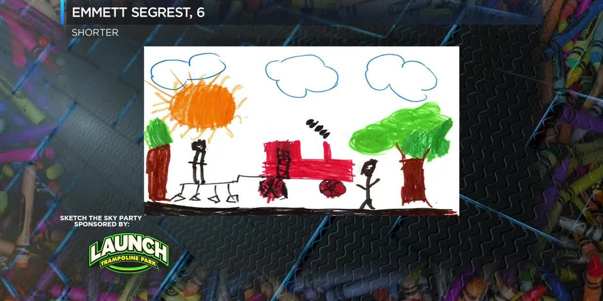 Sketch the Sky winner: Emmett Segrest