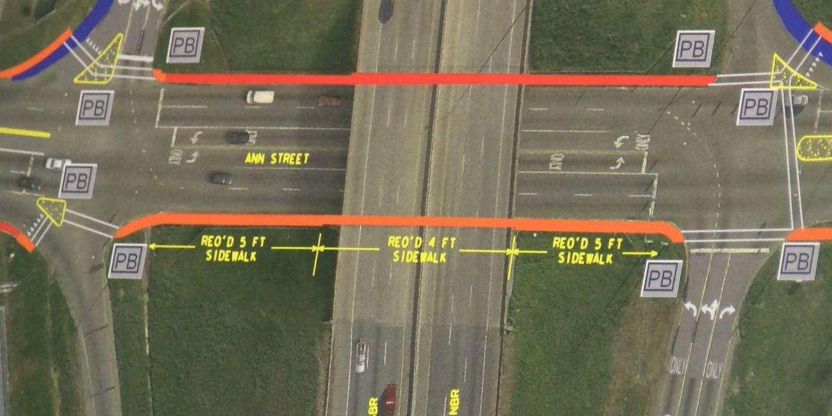 ALDOT: Pedestrian traffic improvements coming near Ann Street