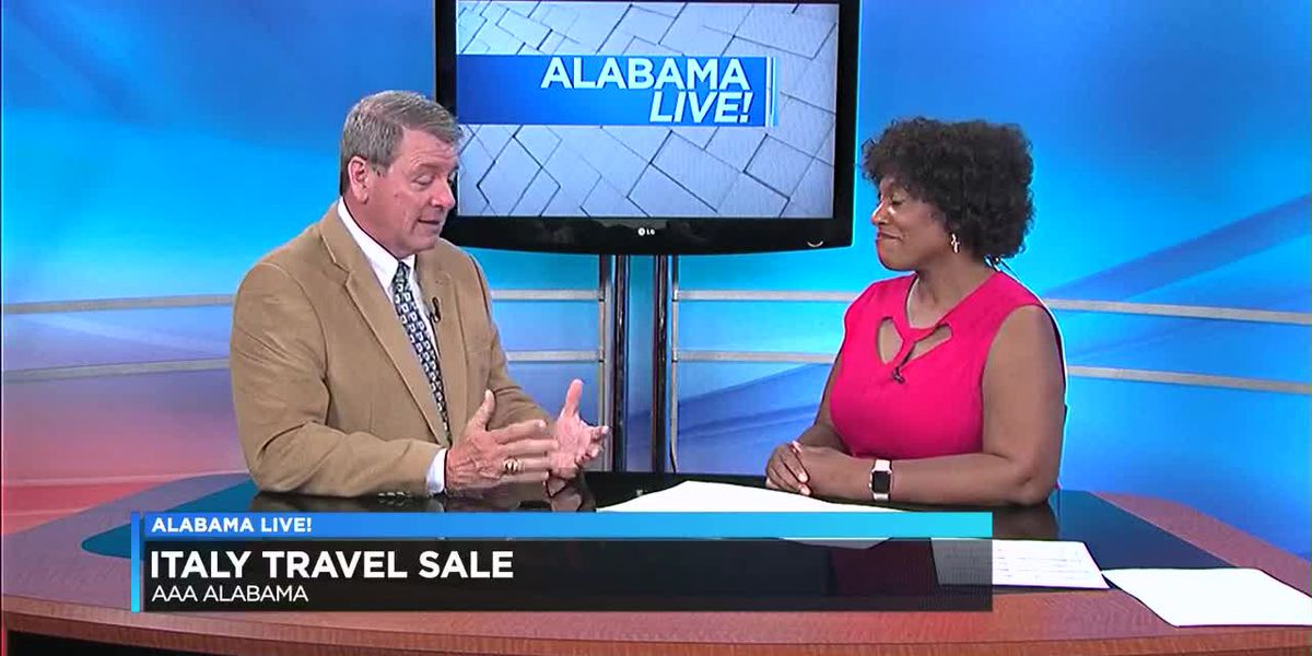 AAA Alabama offering deals on Italy trips