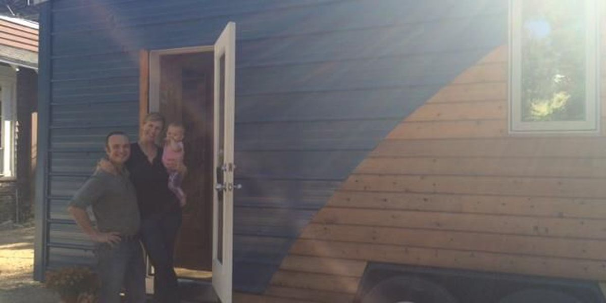 Tiny House on wheels makes a stop in Montgomery