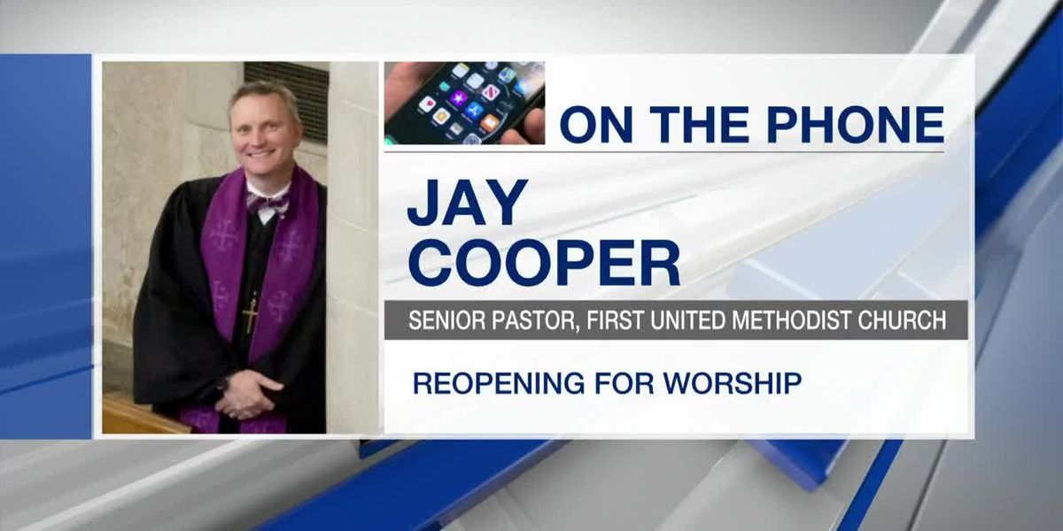 Reopening First United Methodist Church for in-person worship
