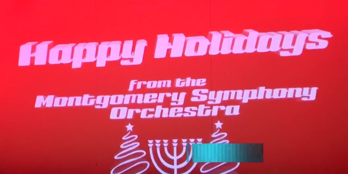 Montgomery Symphony Orchestra hold annual Joyce Caddell Holiday Pops Concert