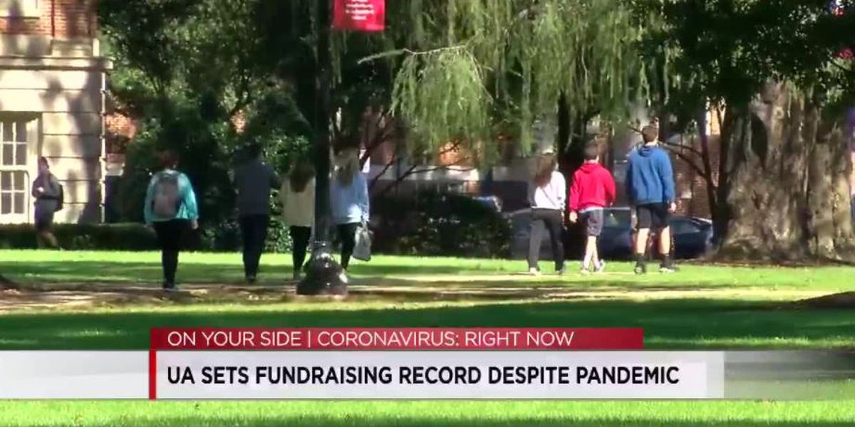 University of Alabama sets fundraising record during pandemic