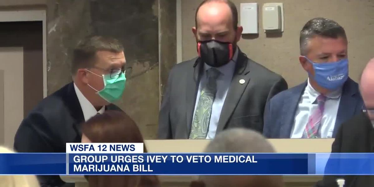 Group urges Ivey to veto medical marijuana bill