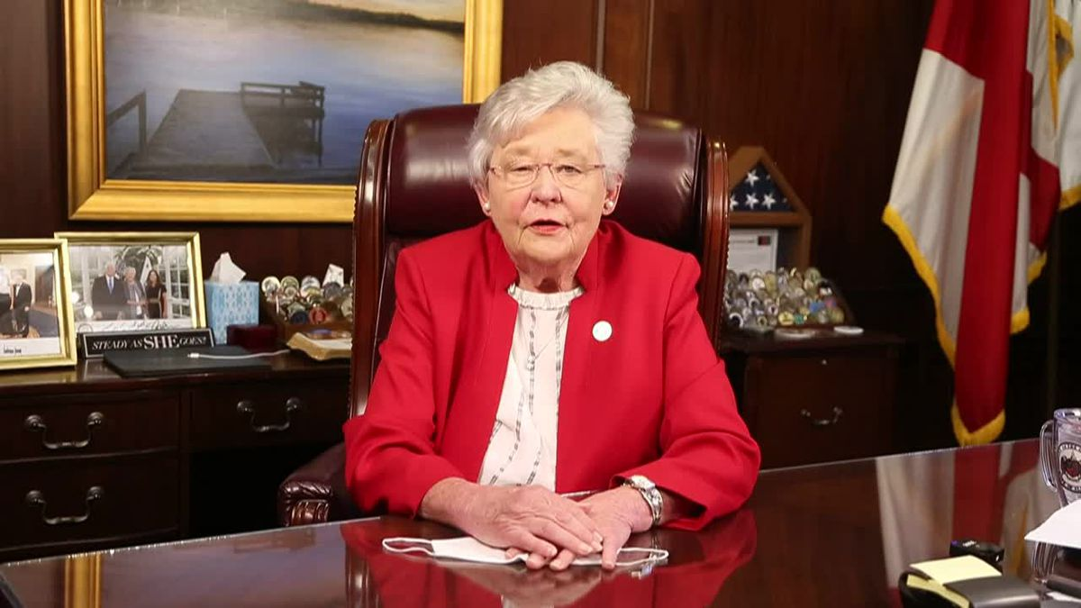 Governor Kay Ivey wants Alabama to 'Mask Up!'