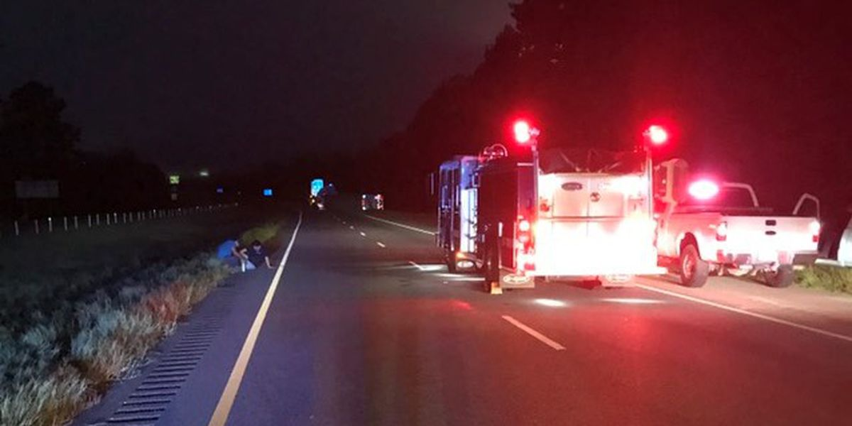 I-65 from Greenville to Georgiana closed until noon after crash
