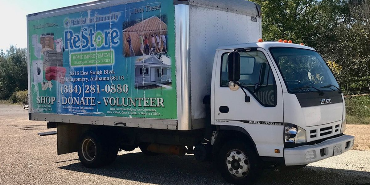 Montgomery Habitat raising funds for ReStore box truck
