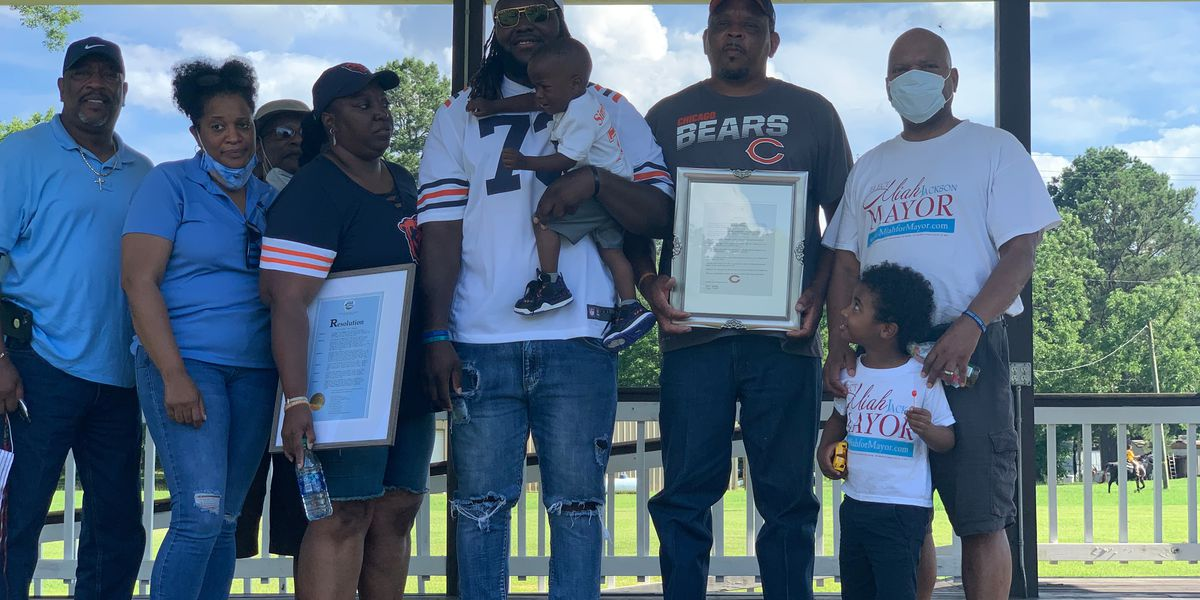 Orrville celebrated town's first NFL draft pick LaChavious Simmons