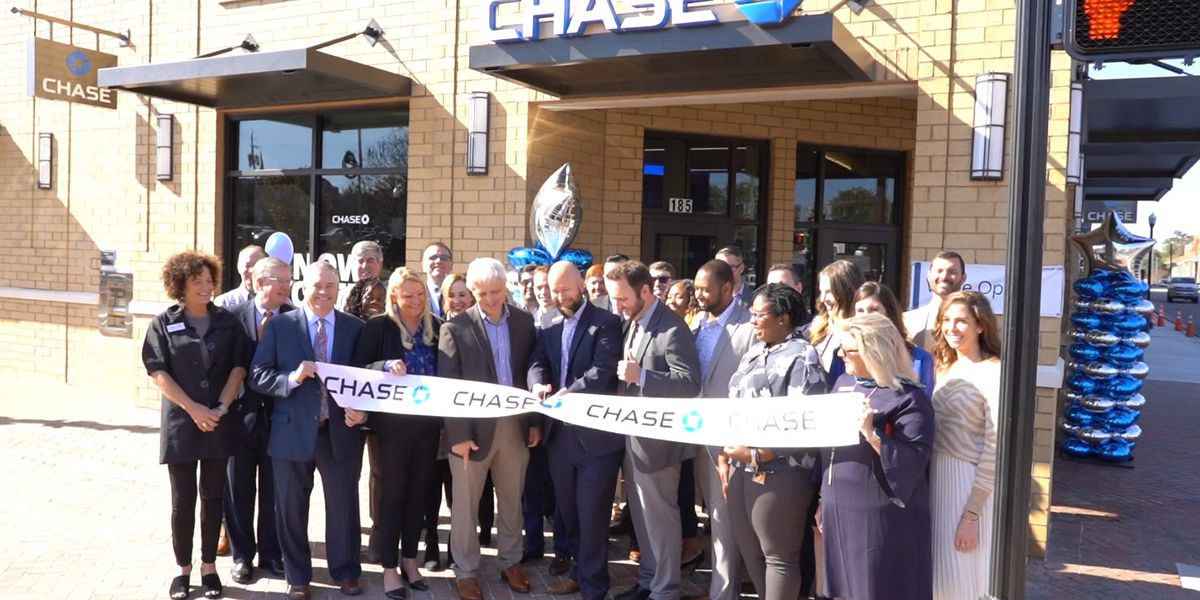 Chase opens first Alabama bank branch