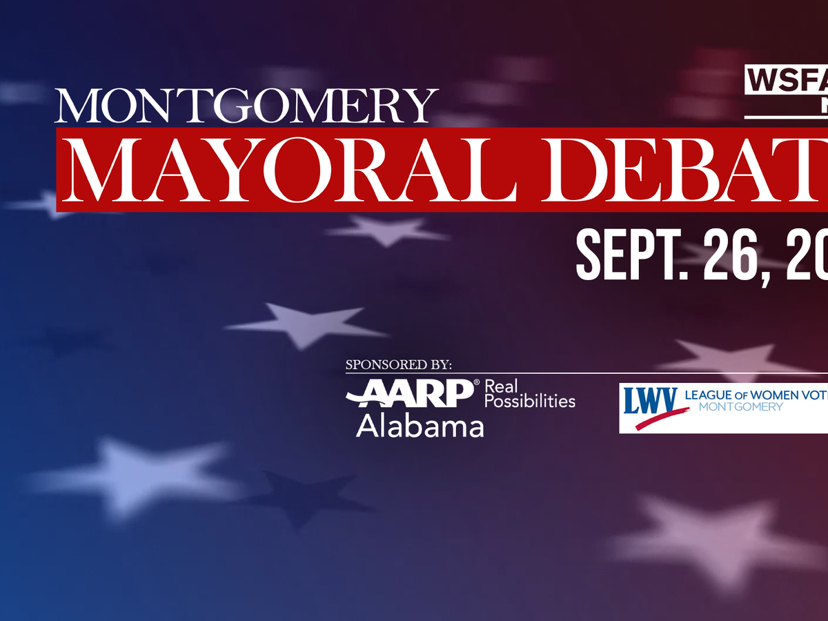 Montgomery mayoral debate to air live on WSFA 12 News