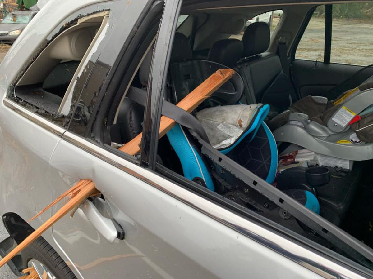 This is why you don't stay in your car: Photo shows power of Wetumpka tornado