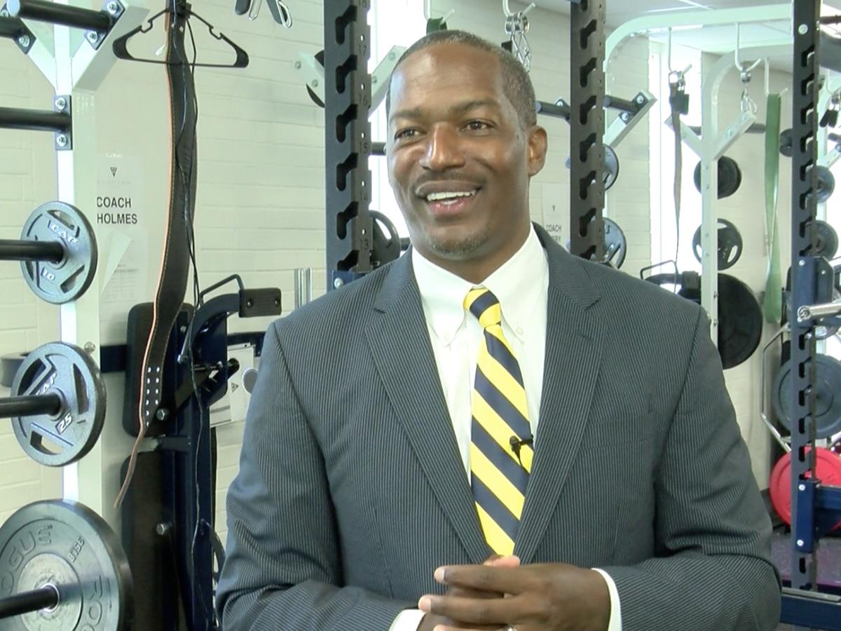 Meet Valiant Cross Academy's new head football coach and assistant principal of culture