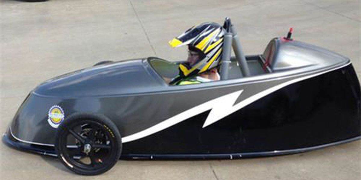 Brew Tech students compete in electric car race Monday