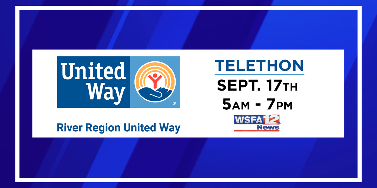 Telethon for River Region United Way raises more than $15K