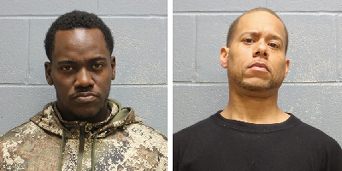 Opelika police arrest two men on burglary, theft charges