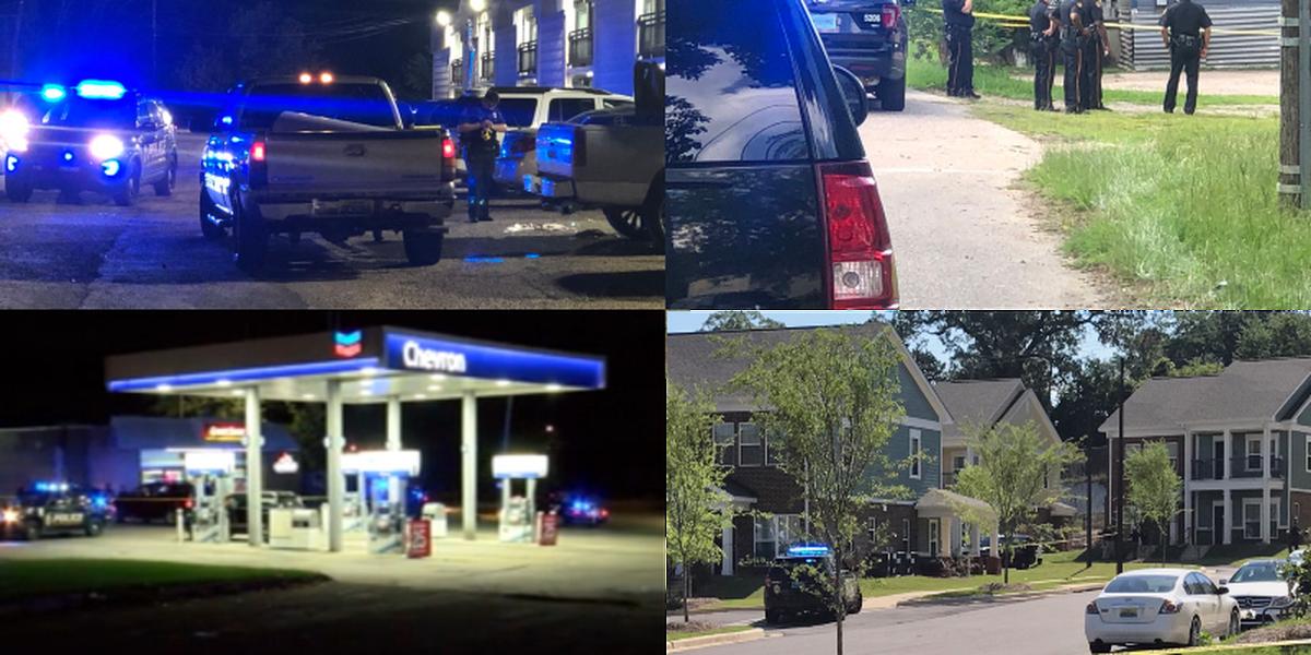 6 shootings, 2 deaths mark violent 72 hours in Montgomery