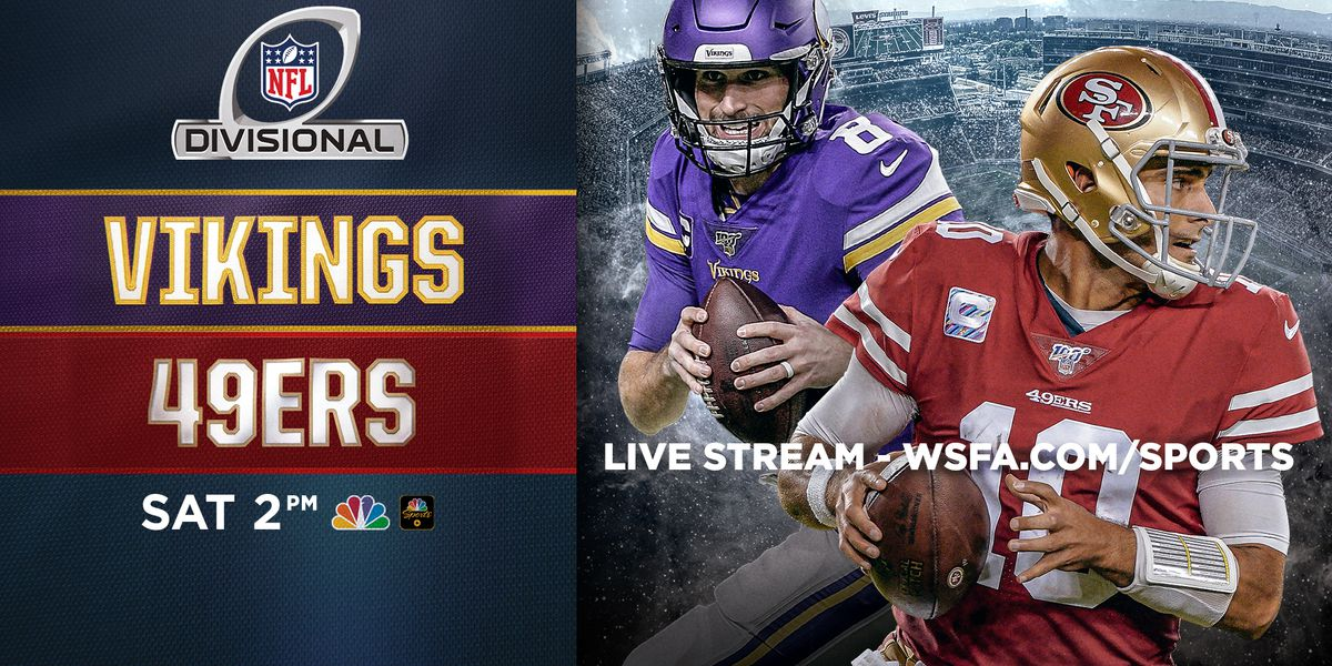 NFL Divisional Playoff Game: Vikings vs. 49ers
