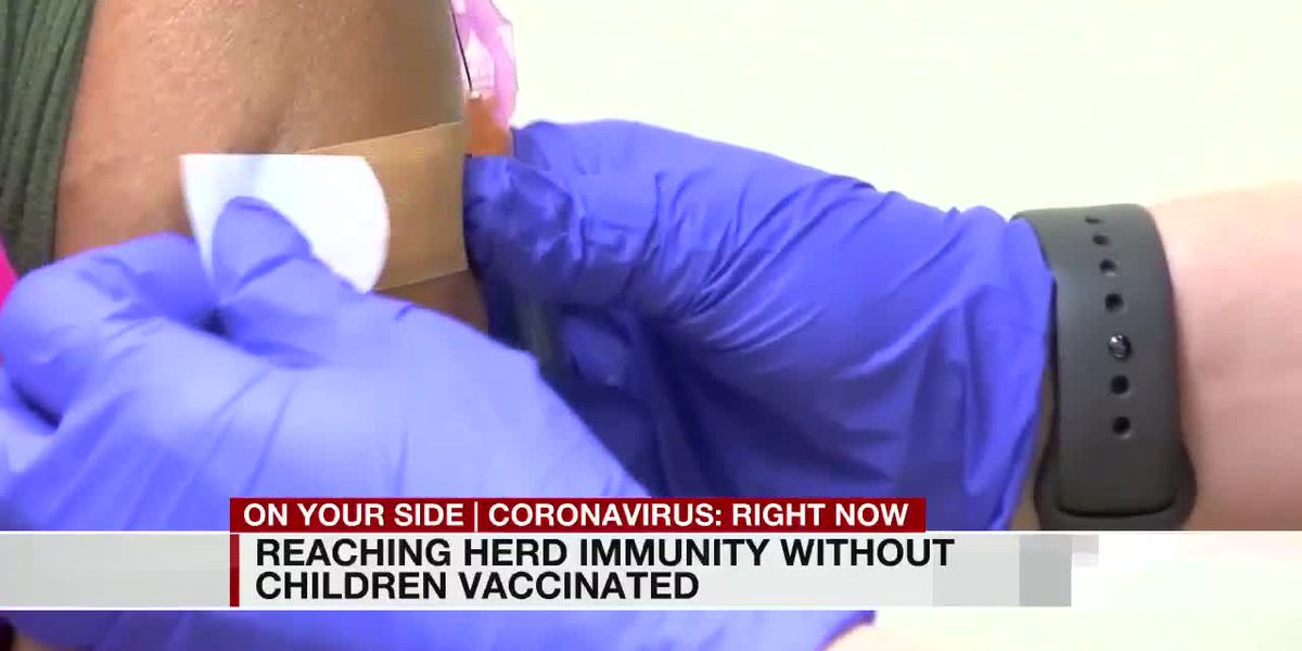 Health officials say children ages 12-15 will be crucial in reaching herd immunity