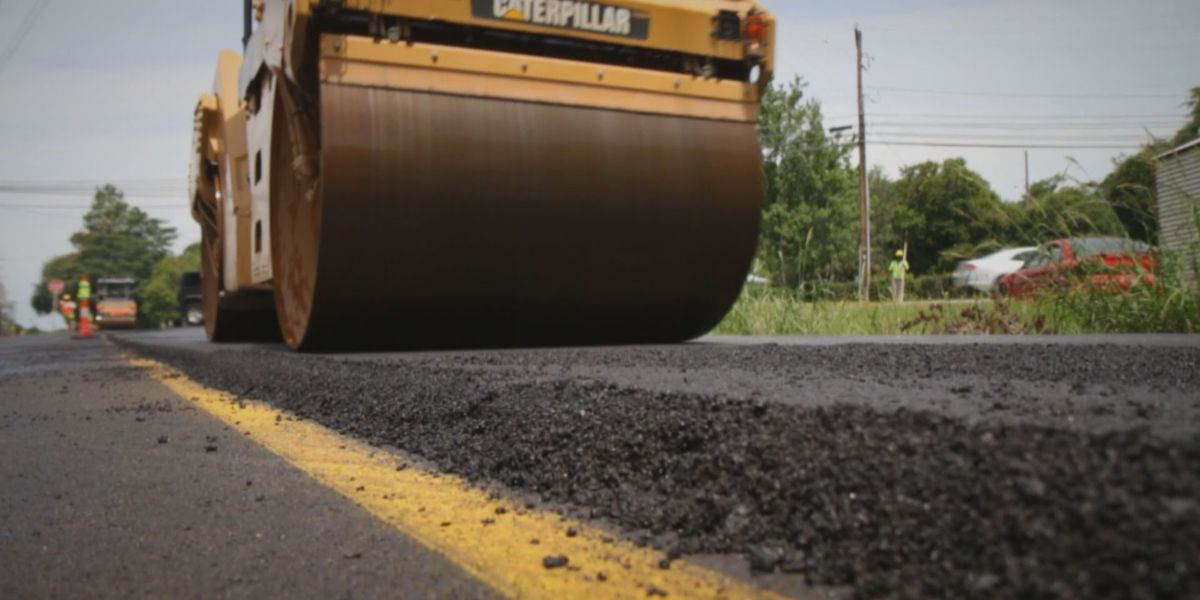 Montgomery's roughest roads to get temporary smoothing over